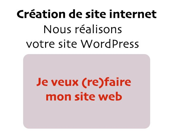 Creation de site internet sur mesure